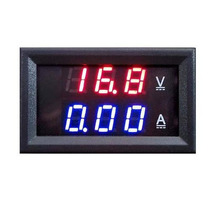 Panel Display Voltimetro Amperimetro 100v 10a