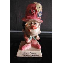 Figura Retro Vintage Payaso Clown W & R Berries Cos 1970