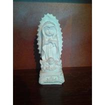 Alcancia Virgen Infantil De Yeso Ceramico Blanca Para Pintar