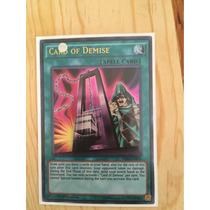 Card Of Demise Ultra Rare