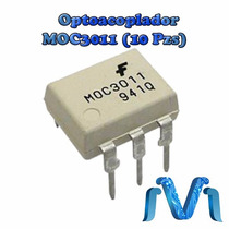 Moc3011 Optoacoplador Optoaislador Triac (10 Pzs)