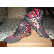 Zapatillas De Lucha Olimpica Asics Nuevos Del # 7 Mexicano