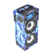 Bocina Portatil Linkbits B03011 Reproductor Mp3 Fm Azul