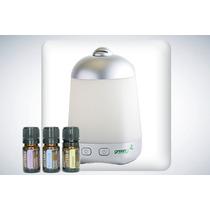 Difusor Green Air Y Kit Básico De Aceites Esenciales Doterra