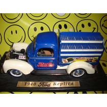 Pepsi Camion Repartidor Restaurar 1940 Ford Replica Colecion