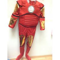 Disfraz Iron Man Traje Para Niño