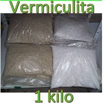 1 Kilo Vermiculita Sustrato Hidroponia Jardin Invernadero