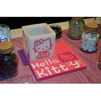 Centro De Mesa Hello Kitty Aluzza.