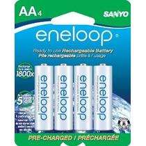 Eneloop Aa 1800 Ciclo De Ni-mh Pre-charged Baterías Recargab