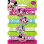 Minnie Mouse Minnie Mouse Pulseras De Goma 4 Count