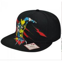 Wolverine Gorra Bordada Snapback Marvel Comics X-men Disney