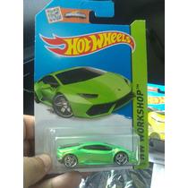Hot Wheels De Coleccion 2015 Lamborguini Huracan Verde