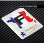 Emblema Peugeot Rc Sport Francia 201 306 206 Autoadherible