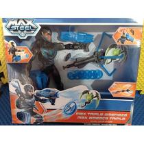 Max Steel Triple Amenaza Mattel