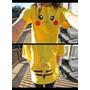 Playera  Blusa Pikachu Hombre