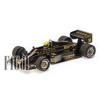 F1 Ayrton Senna Lotus Renault 97t 1985 Minichamps Esc 1/18