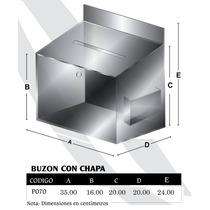 Buzón De Sugerencias Acrilico 3mm Con Chapa Modp070