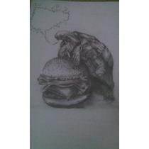Dibujos O Retratos De Cualquier Tipo A Lapiz Y A Color Arte