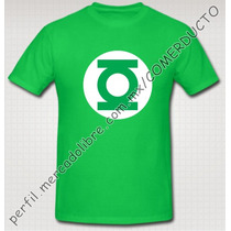 Playera Big Bang Theory Sheldon Linterna Verde Sp0