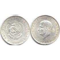 Moneda De Plata Hidalgo No Subasta