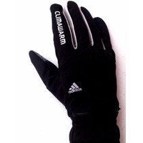 Adidas Guantes Termicos Unisex Dedos Touch Running Bolso Zip