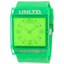 Reloj Marc Ecko Unlimited E08513g8 The Zero G Classic Neon