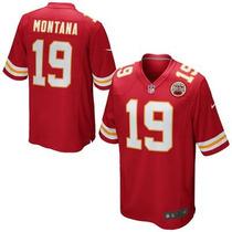 Nfl Jersey Large Nike Joe Montana Kansas City Chiefs Jefes