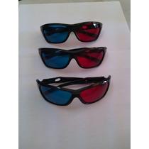Moda Lentes Peliculas En 3d Color Azul Y Rojo Unisex