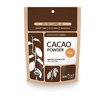 Navitas Naturals Orgánica De Cacao En Polvo De 16 Oz Bolsas