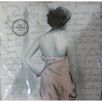 Servilleta Europea, Decoupage, Vintage, Shabby. Con 100 Pzs