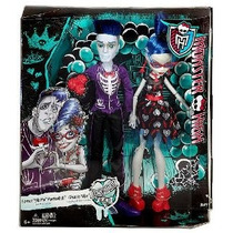 No Muerto Monster High Love - 2 Paquete: Slo Mo Y Ghoulia Au