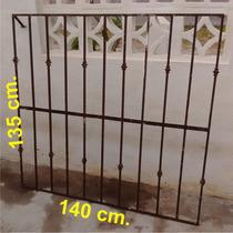 2 Protecciones Para Ventana Herreria 140 X 135 Cm.