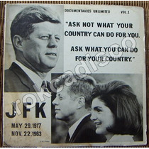 Documental, John Fitzgerald Kennedy, 1917-1963, Lp 12´, Sp0