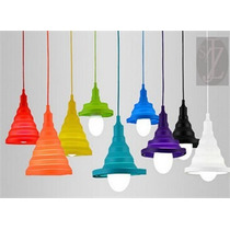 Lc721 Lámpara Colgante De Silicón Ajustable