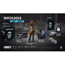 Watchdog Edición De Colección Para Ps3