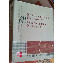 Operaciones Unitarias En Ingeniería Química, Mccabe, Mcgraw