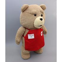 Oso De Peluche Ted En Delantal 45 Cm , Importado