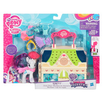 Paquete My Little Pony--rarity Boutique Y Fluttershy Cabaña