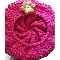 Gorro Niña Niño Crochet Tejido Frio