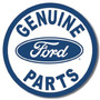 Ford Genuine Parts Retro Vintage Letrero Retro Lamina Post