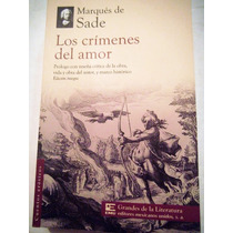 Los Crimenes Del Amor Marques De Sade