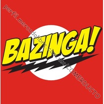 Playera Sheldon Bazinga Big Bang Theory Sp0