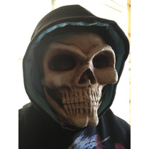 Mascara Calavera Muerte Latex Halloween Careta Motociclista