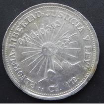Moneda México 2 Pesos Guerrero 1815 Campo Morado