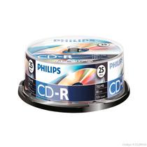 Cd-r Philips Torre C/25 Pzas 80 Min 700 Mb