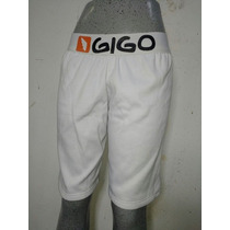 Short Logo Blanco Homewear 996 Gigo G