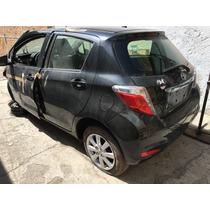 Yonke Toyota Yaris Hb 2014 Std Refacciones Partes Huesario