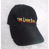 Disney! Gorra Negra The Lion King El Musical Broadway Adulto