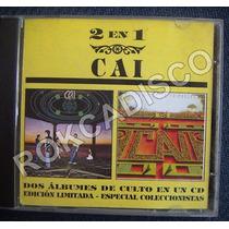 Cd, Cai, 2 En 1, Noche Abierta Y Cancion De La Primavera
