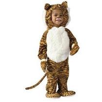 Disfraz Bebe Niño Niña Tigre Tigrecito Primavera